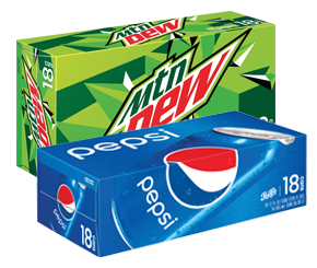PEPSI OR MOUNTAIN DEW