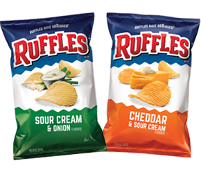 RUFFLES <BR> POTATO CHIPS