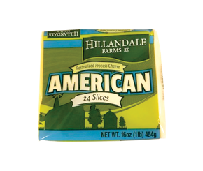 HILLANDALE AMERICAN CHEESE SLICES